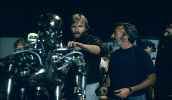 The Terminator - Behind the Scenes Photos