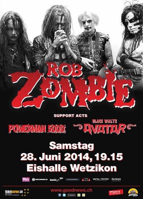 Rob Zombie 2014