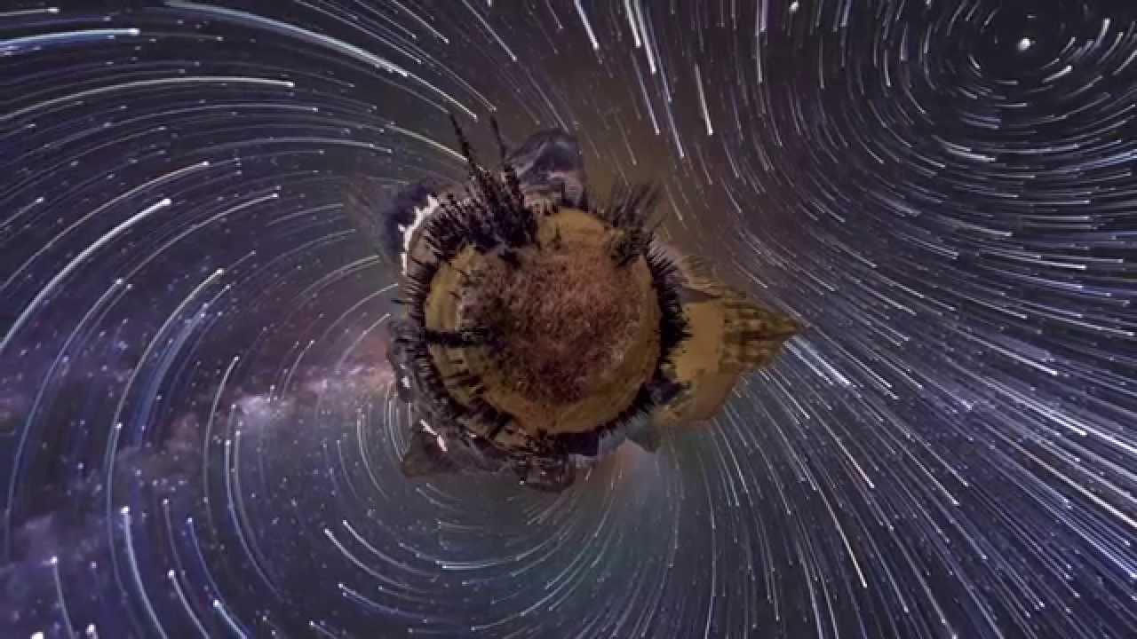 360° Panorama Night-Sky Timelapse