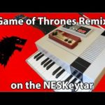 8-Bit Game of Thrones Remix su NESKeytar