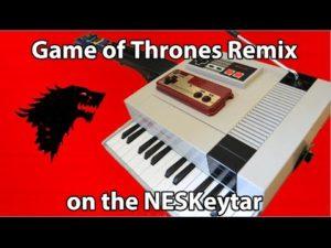 8-Bit Game of Thrones Remix on NESKeytar