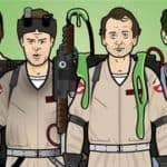 Ghostbusters Paper dockor