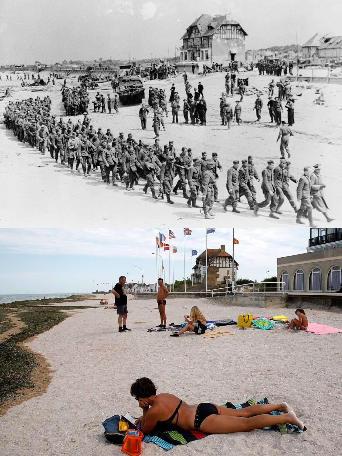 D Day Die Strände Der Normandie Damals Und Heute Dravens Tales
