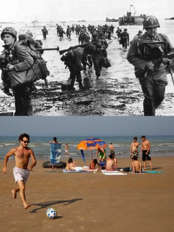 D-Day: The beaches of Normandy then and now
