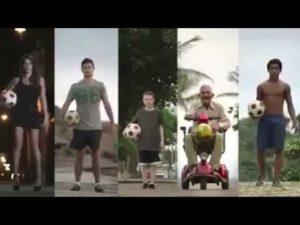 Simplement, ce n'est Brésil - La vidéo pour la Coupe du Monde de Football