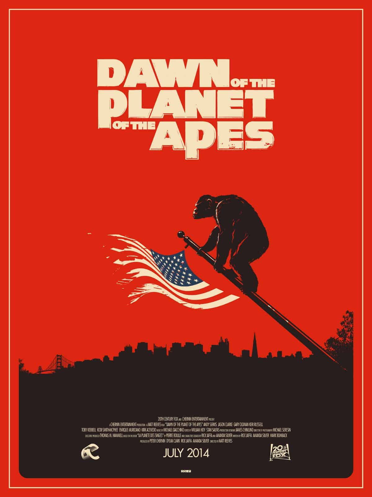 Matt Ferguson: Dawn of the Planet of the Apes