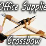How to tinkering a crossbow from office supplies