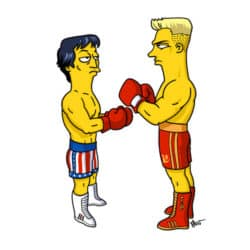 Rocky IV Simpsonized