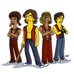The Warriors Simpsonized