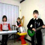 Niños Medieval Band: Los niños de banda encubierta sol de Rammstein