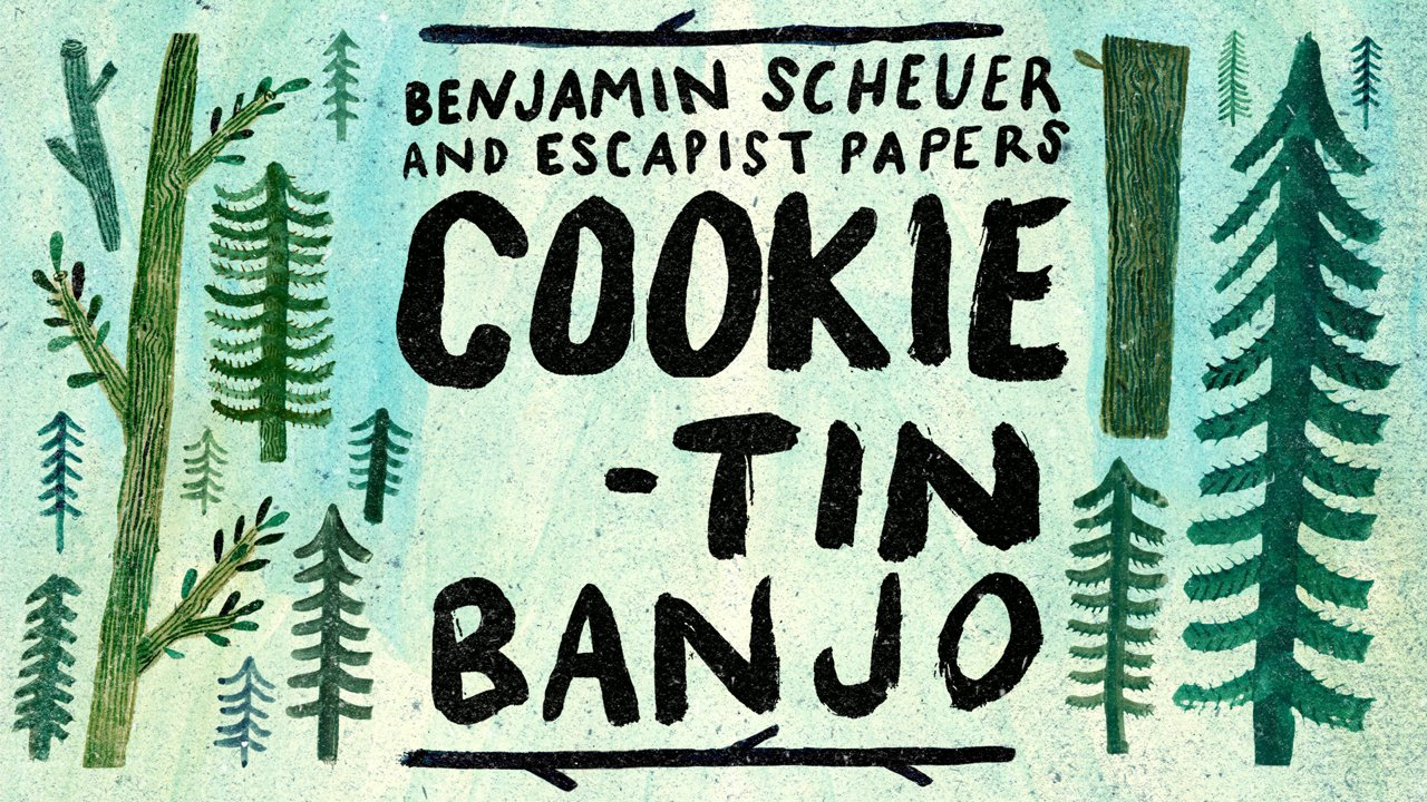 cookie tin banjo how to make