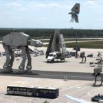 Gelekte Star Wars Episode VII Filmset Footage