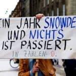 Un anno Snowden