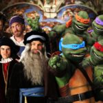 Leonardo da Vinci, Donatello, Michelangelo, Raphael vs. The TMNT