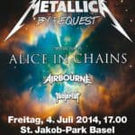Metallica Sonisphere Basilea orden de marcha