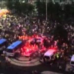 Nach der Niederlage Brasiliens: Chaos und Panik an der Copacabana in Rio de Janeiro
