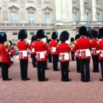 "Queens Guards play the theme of ""Game of Thrones"""