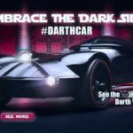 Velkommen til Darkside: Darth Vader Hot Wheels Auto