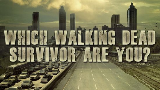 Wich Walking Dead Survivor es usted?