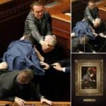 Ukrainian struggle in Parliament and Renaissance art