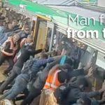 Den effekt af mennesker rejser en hel tog
