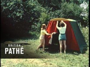 Motorroller mit Zelt – Scooter Tent