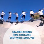 Skateboarding Time Collapse