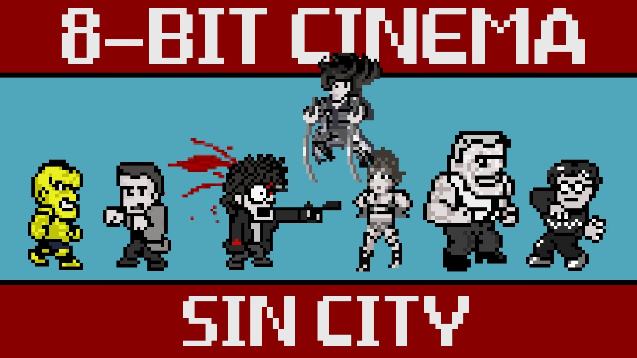 8-Bit Sin City als Video Game