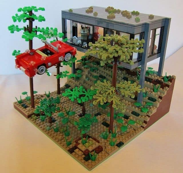 Ferris Bueller Lego: You Killed The Car