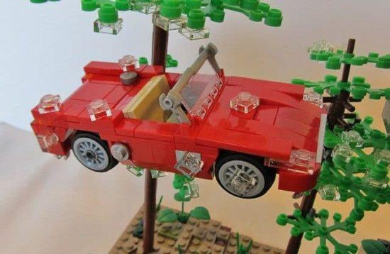Ferris Bueller Lego: You Killed The Car