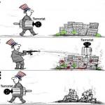 Terrorbekämpfung wyborem dań z USA