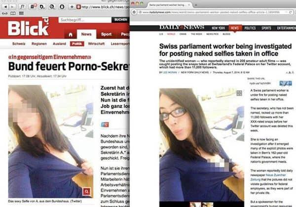 Der Unterschied zwischen Schweizer und US-Presse