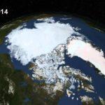 Arktische Eisschmelze im Zeitraffer