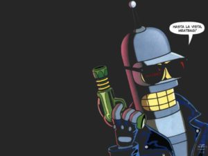 Bender som Terminator