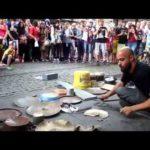 Fantástico Rua Techno Drummer