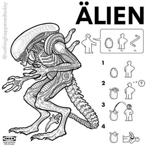 IKEA: Alien