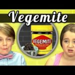 Kids vs. mat: Vegemite