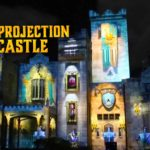 The Sleeping Prince: Light Projection on a Castle