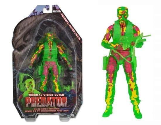 Termisk Vision Hollandsk aus Predator