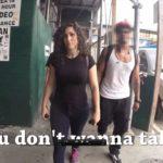 10 Stunden als Frau durch New York und wird über 100 Mal angequatscht