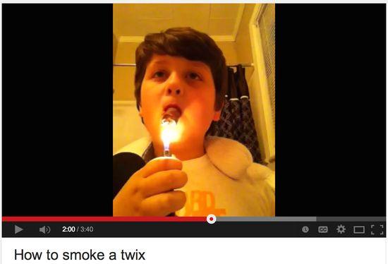 How To Smoke A Twix