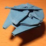 Faucon Millenium Origami