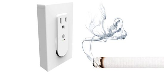 Denna rökdetektor vit, vad har du rökt