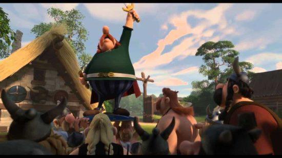 Asterix Im Land Der Götter Trailer