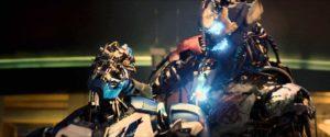 Drunk Iron Man tries to lift Thor's Hammer