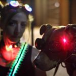 Laser Dog Gogle Halloween Costume