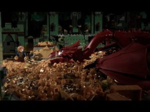 Lego: The Hobbit in 72 Seconds