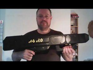Papierflieger-Maschinenpistole aus dem 3D-Drucker