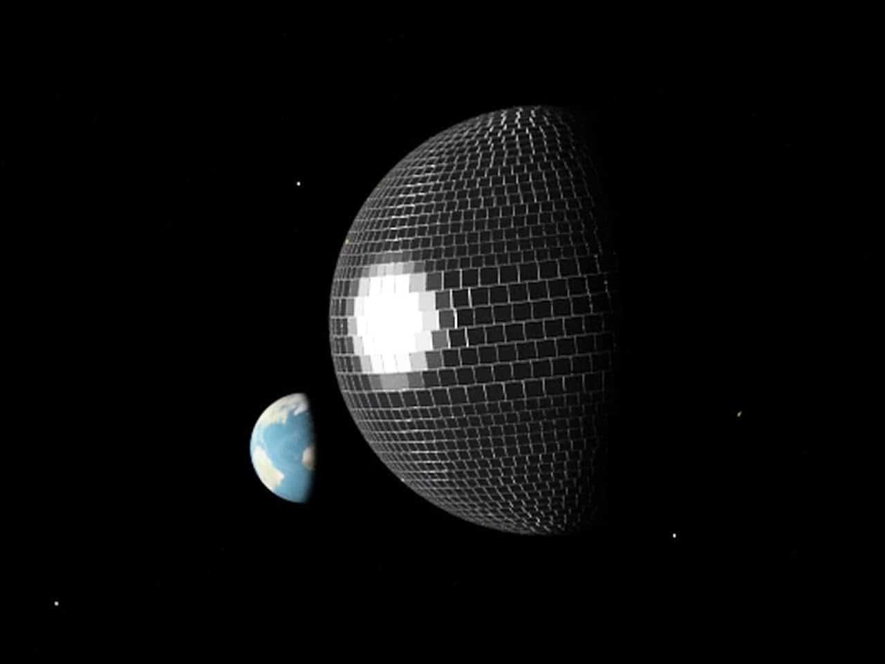 Wenn der Mond eine Discokugel wäre