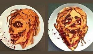 Zombie Pfannkuchen selbstgemacht